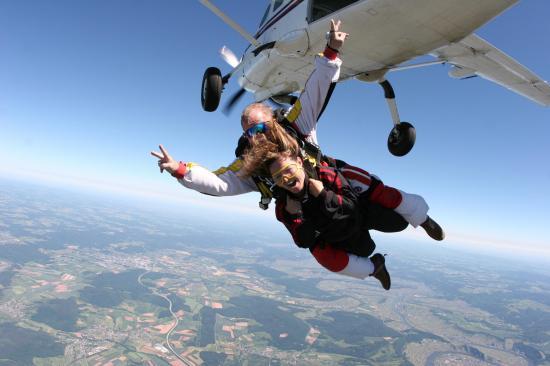 Saut parachute pr s de paris ou sauter en parachute - Saut parachute vannes ...